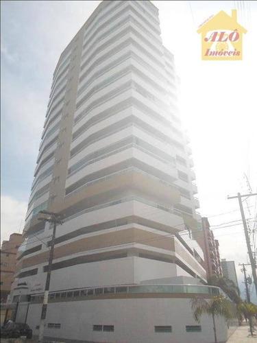 Apartamento Com 2 Dormitórios À Venda, 94 M² Por R$ 425.000,00 - Vila Caiçara - Praia Grande/sp - Ap0875