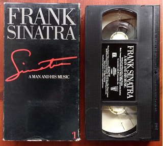Frank Sinatra - A Man And His Music #1 (1990) Vhs Orig Imp