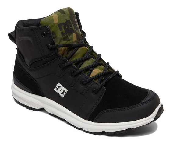 Botas Dc Shoes Modelo Torstein Mountain Negro Camuflado
