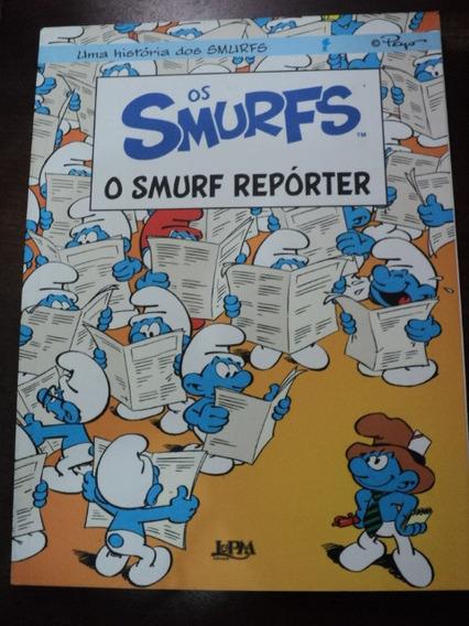 Livro Os Smurfs - O Smurf Reporter