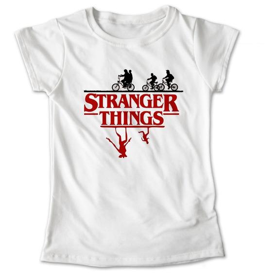 Blusa Stranger Things Camiseta Playera Sombras Once Eleven Upside Down Demogorgon Dama Niña 644