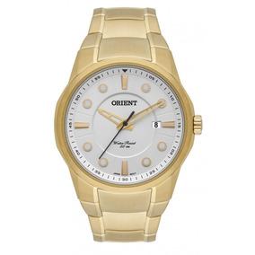 Relógio Orient Masculino Dourado Mgss1121 S1kx