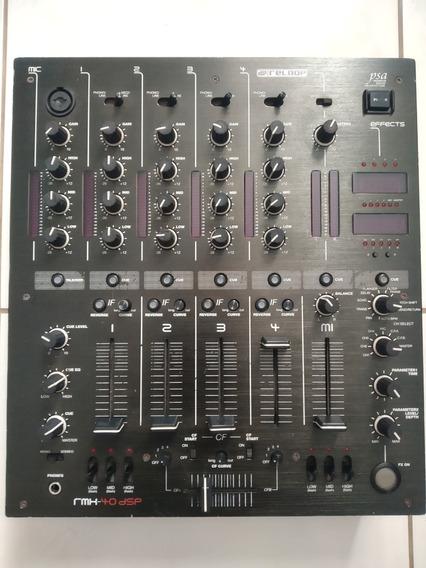 Mixer Reloop Rmx-40 Dsp Blackfire Edition + Caixa De Retorno