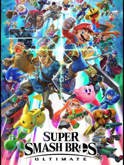 Smash Bross Ultimate Switch 5 Dias Aluguel