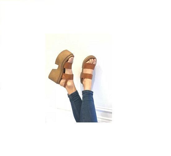 Zapato Mujer Sandalia Plataforma Suela #773