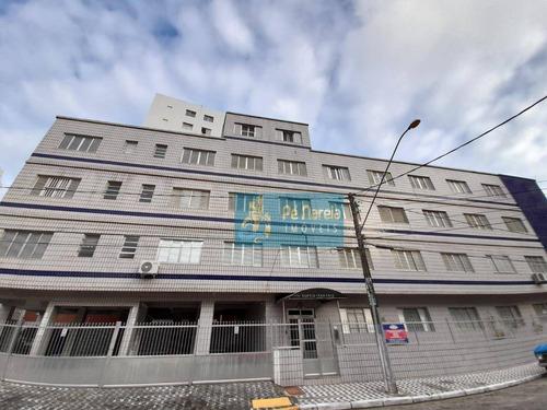 Imagem 1 de 9 de Apartamento Com 1 Dormitório À Venda, 34 M² Por R$ 245.000 - Vila Guilhermina - Praia Grande/sp - Ap1053