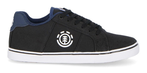 Zapatillas Element Winston Black Blue Niño Bfcttewi