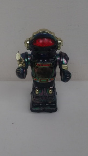 Robot Espacial 22cm- Años 90 A Pila Funciona