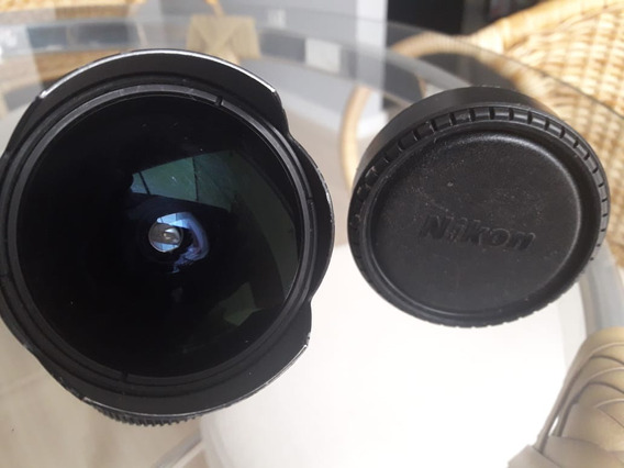 Lente Nikon 16mm Fisheye F/2.8