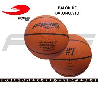 Balon Basquetbol Baloncesto Fire Sports Economico