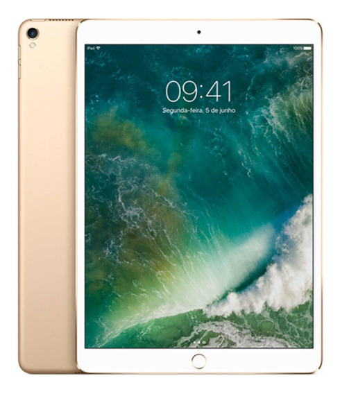 iPad Pro De 10,5 Polegadas Wi-fi 256 Gb - Dourado