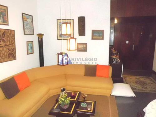 Apartamento À Venda, 3 Quartos, 1 Vaga, Leme - Rio De Janeiro/rj - 18141