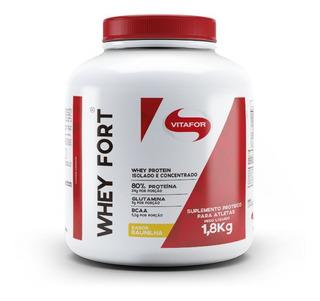 Whey Fort - Isolado E Concentrado (1800g) - Vitafor