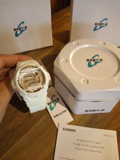 Reloj Casio Baby-g Digital Verde Agua 46mm -sumerible Gshock