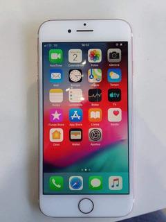 iPhone 7 Rose 128g Original Com Todos Acessórios E Nota Fis