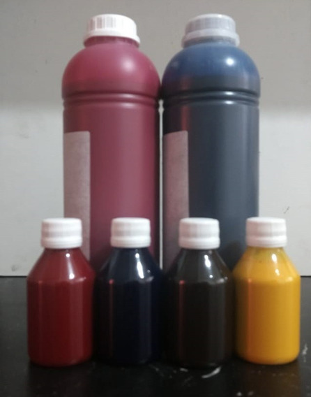 Tinta Sublimatica Para Epson 2 Litros + 400ml Com As 4 Cores