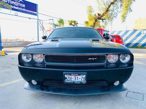 Dodge Challenger 6.4 Srt8 392 Gamuza/piel Qc Factura Origina