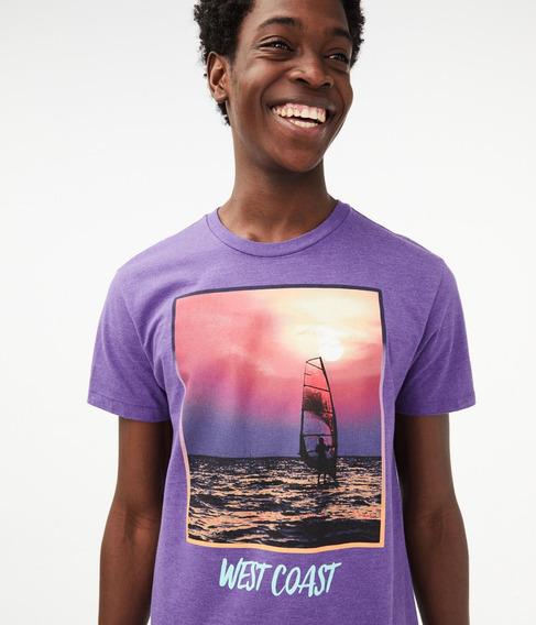 Camiseta Aeropostale - West Coast (importada Original)