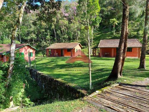 Imagem 1 de 25 de Sítio Com 6 Dormitórios À Venda, 187 M² Por R$ 1.855.000,00 - Da Fabrica - São Luís Do Paraitinga/sp - Si0107