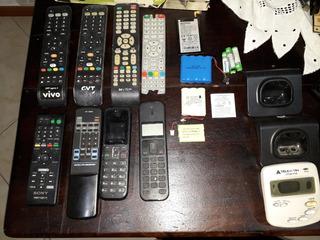 Pacote De Telefones, Controles Remoto E Baterias