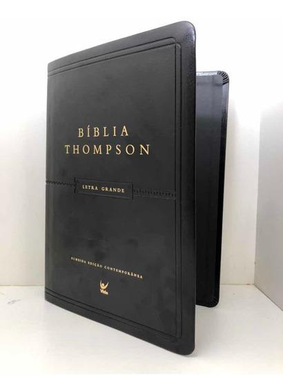 Capa Para Reformar Bíblia Sagrada Thompson Grande Preta