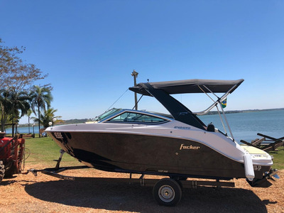 Lancha Focker 242 Open C/ Mercruiser 200hp B3 2019 + Carreta