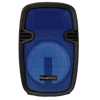 Bafle Bluetooth Power And Co Xpl 8000bl 4200w Usb Azul Sin E