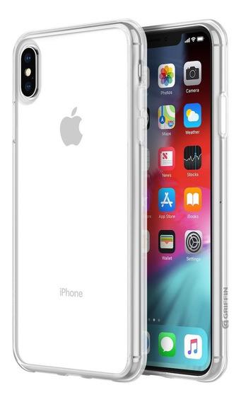 Funda Para iPhone Xs Max Griffin Reveal Transparente.