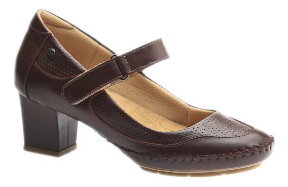Sapato Feminino Em Couro Roma Jambo 789 Doctor Shoes