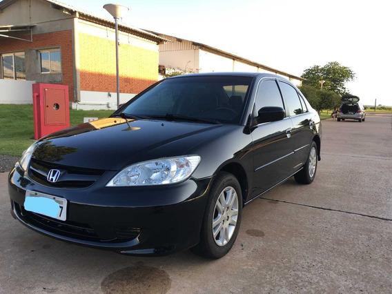 Honda Civic 1.7 Lxl Aut. 130cv Vtec / Couro/ Impecável