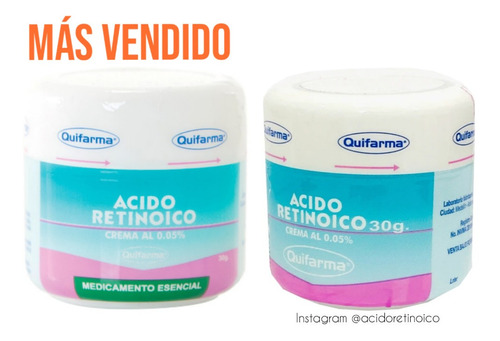 Ácido Retinoico En Crema 0.05% Control - g a $600
