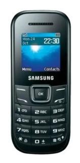 Celular Samsung Keystone2 Gt-e1205 1 Chip Preto C Fone
