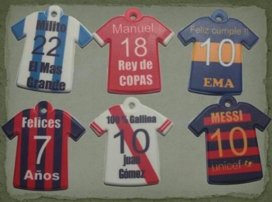 Llaveros De Camisetas Equipos De Futbol