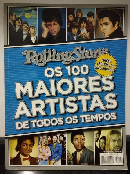 Revista Rolling Stone 100 Maiores Artistas C/ Madonna Rjhm