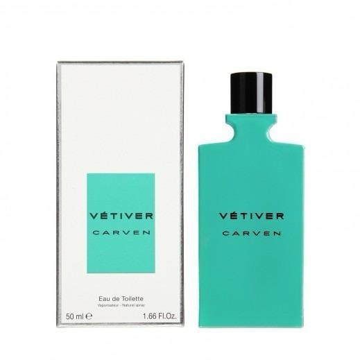Perfume Vétiver Carven Masculino 50 Ml Lacrado - Selo Adipec
