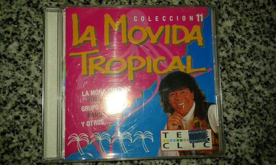 Cd Colección La Movida Tropical 11 La Mona Rodrigo Sombras..