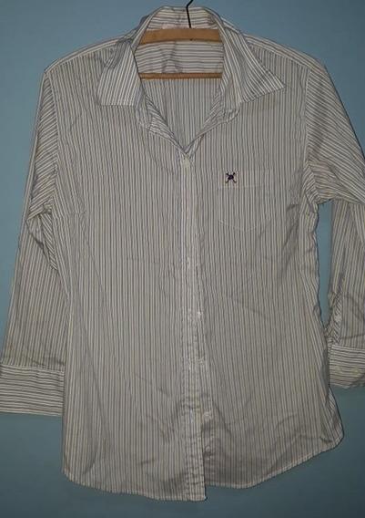 Camisa Branca Feminina Polo Play
