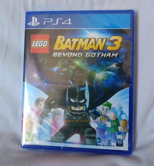 Lego Batman 3 Beyond Gotham Ps4 Mídia Física Novo