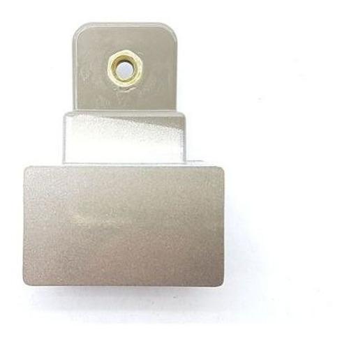 Imagem 1 de 8 de Suporte Puxador Geladeira Electrolux Inox Df80x Di80x Dt80x