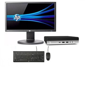 Cpu + Monitor Hp Elitedesk 800g3 I5 7ger 4gb 256ssd Barato