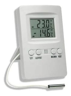 Termômetro Digital Maxima Minima Int Ext C/ Alarme Incoterm