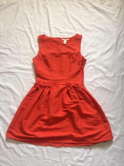 Vestido Dama Forever 21 Color Naranja M