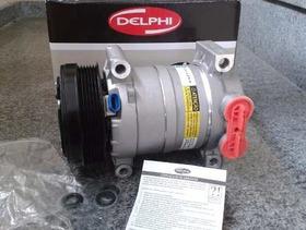 Compressor Ar Condiconado Gm S10 4.3 V6 6cc Original Delphi