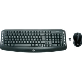 Kit Teclado E Mouse Sem Fio Wireless Hp Lv290aa