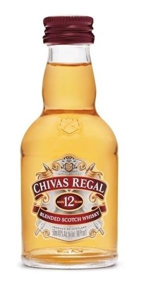 Chivas Regal Whisky 12 Anos Escocês - 50ml