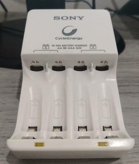 Carregador De Pilhas Sony Cycle Energy