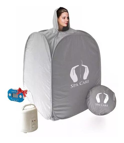 Sauna De Vapor Portatil Lenive Spas-01 + Medidor De Grasa