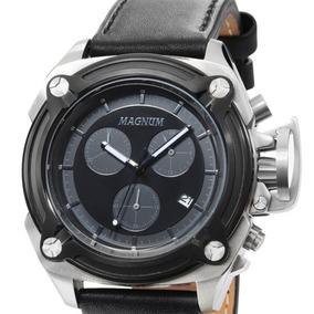 Relógio Magnum Multifunção Ma34496c Prateado C/ Nota Fiscal