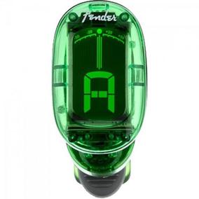 Afinador Cromático California Series Ft-1620 Verde Fender