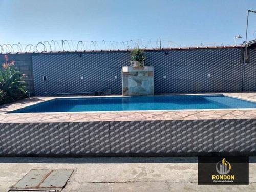 Imagem 1 de 16 de Casa Com 2 Dormitórios À Venda Por R$ 260.000 - Estância Balneária Tupy - Itanhaém/sp - Ca1436